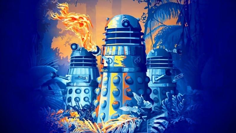 The Daleks' Master Plan Vinyl Trailer | Doctor Who