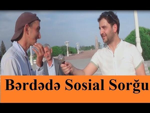 Bərdə Şəhərində Sosial Sorğu 2019