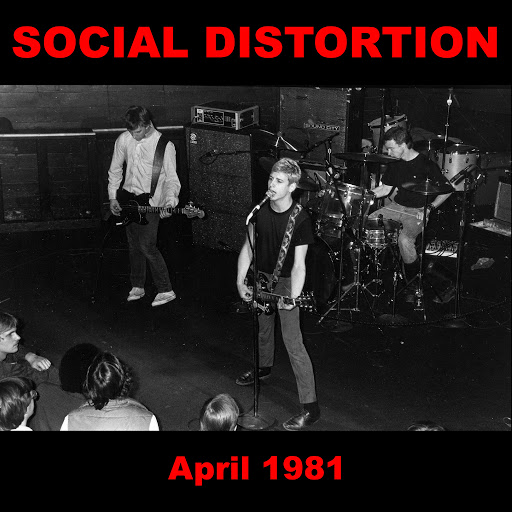 Social Distortion альбом 1945 and Other Recordings from April 1981