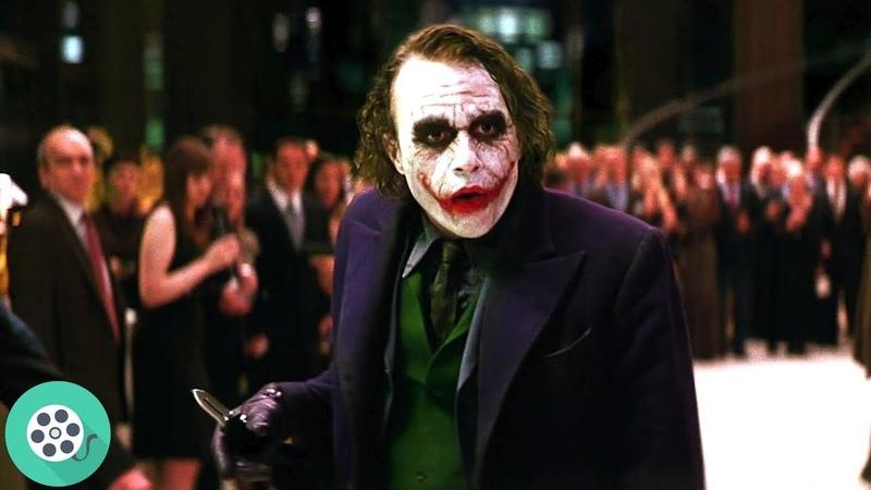 Джокер ищет Харви. (Сцена на вечеринке).Тёмный рыцарь 2008 год.