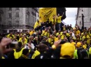 Borussia Dortmund Fans in London Champions League Final 2013 Wembley BVB Support