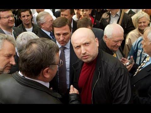 Мужик Турчинову: Ты проходимец, сектант и сатанист! Турчинов и секта Баптистов