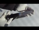 Нож разделочный НР 2т Рукоять граб гарда алюминий проставки G 10 алюминий Ножевая мастерская Кандаловых