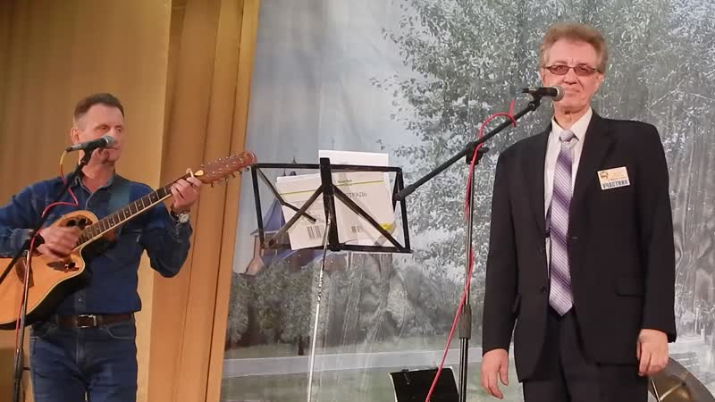 DSCN8610 Дуэт Серп и молот г.Тюмень. Г. Балахнин и В. Гильдерман на фестивале Струны осени г.Тавда 2018