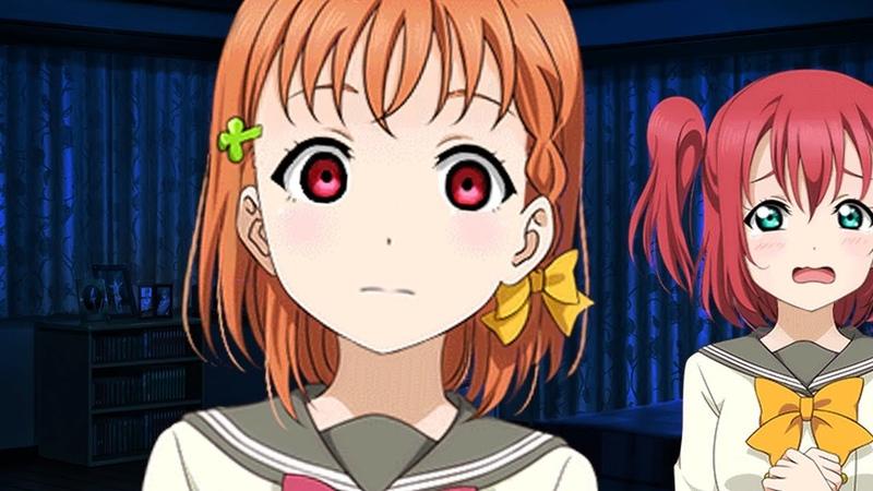 Chika's Spooky Story