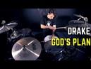 Drake God's Plan Matt McGuire Drum Cover