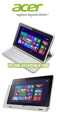 переустановка windows на acer iconia tab w700
