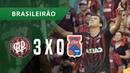 ATLÉTICO-PR 3 X 0 PARANÁ - GOLS - 23/09 - BRASILEIRÃO 2018