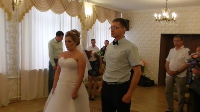 Свадьба 3 вход в загс
