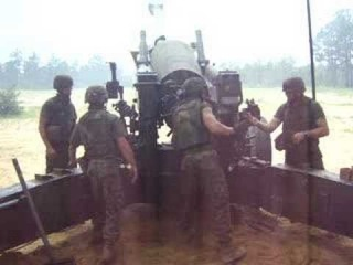 Marine corps field artillery at its best