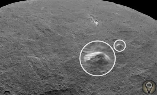 Пирамида на Церере Карликовая планета Церера была открыта 1 января 1801 года итальянским астрономом Джузеппе Пиацци. Это небесное тело отличается относительно небольшими размерами: