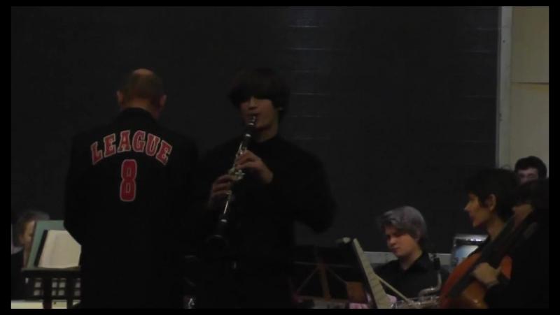 Vologda Break Band - Arty Shaw clarinet concerto