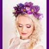 Camellia|Ободки и венки с цветами спб