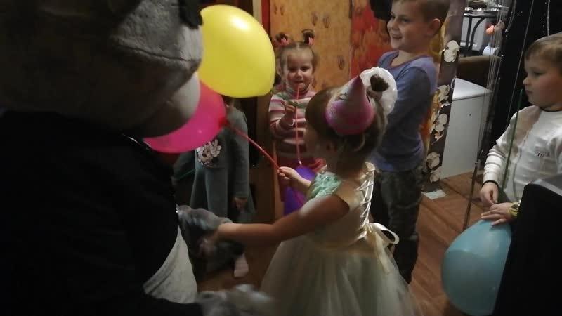 1.12.18 Поздравлялки от Мишки Тедди для Даринки, 4 годика 🤗😘