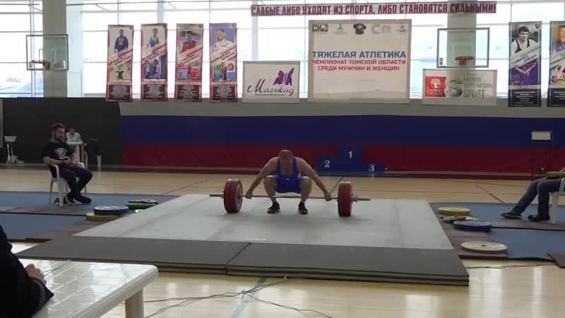 Репортаж с чемпионата Томской области по тяжелой атлетике на SportUs Рro