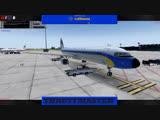 LIVE P3D v4.4 Buchares-Frankfurt Lufthansa Airbus A321 IVAO 822 nm