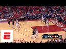 All 27 straight missed Rockets 3-pointers during Game 7 vs. Warriors | ESPN