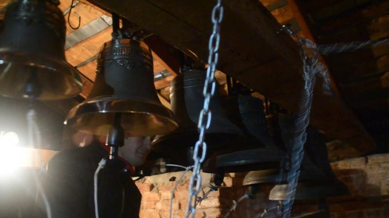 Звон на открытие школы звонарей в Юрьевце