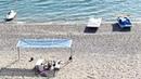Пляж бухты Капсель мыс Меганом