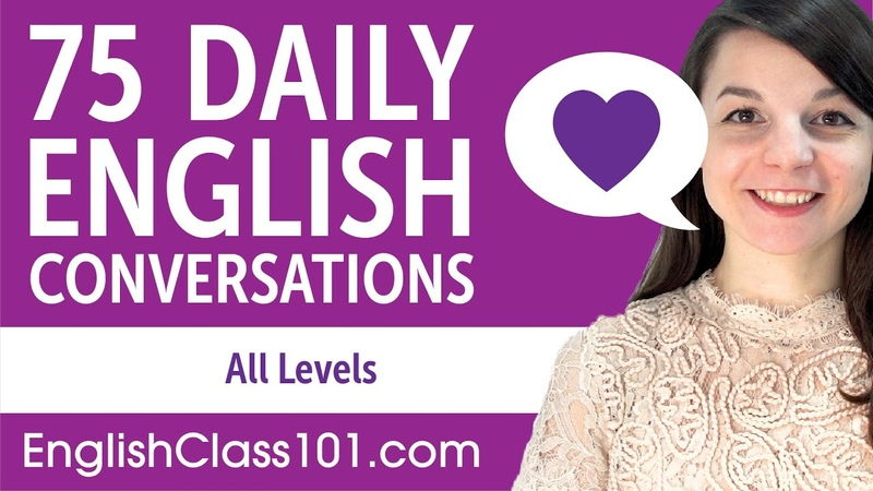 1 ЧАС 45 МИНУТ of Daily English Conversations - English Practice for ALL Learners