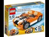 Сборка Lego Creator 3 in 1 - Гоночная машина Сансет - часть 2