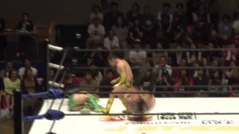 HAYATA, Tadasuke, YO-HEY vs. Banana Senga, Tsutomu Oosugi, Yuki Sato (J STAGE - Korakuen Hall)