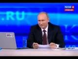 Прямая линия с Владимиром Путиным. 6-ти летняя девочка задала вопрос Путину про Обаму.