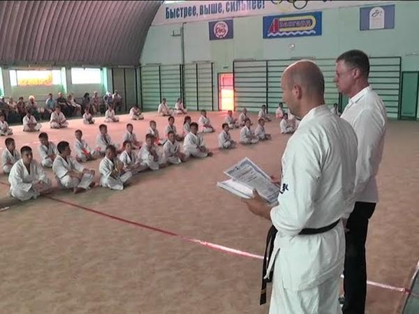 Крымская Федерация Кекусин-кан карате-до завершила учебно тренировочный сбор