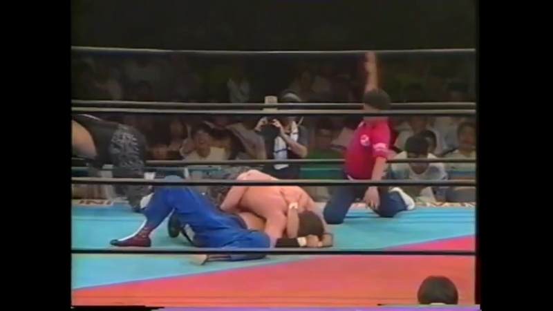 1991.07.11 - Joel Deaton/Billy Black vs. Doug Furnas/Dan Kroffat [FINISH]
