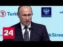 Завершено строительство Турецкого газового потока Россия 24