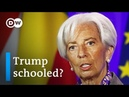 IMF's Lagarde: US China tariff tensions a 'threat for the world economy'   DW News