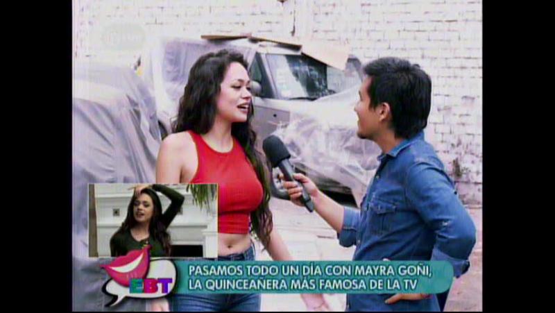 Todo un dia con Mayra Goñi la quinceañera mas famosa de la Tv