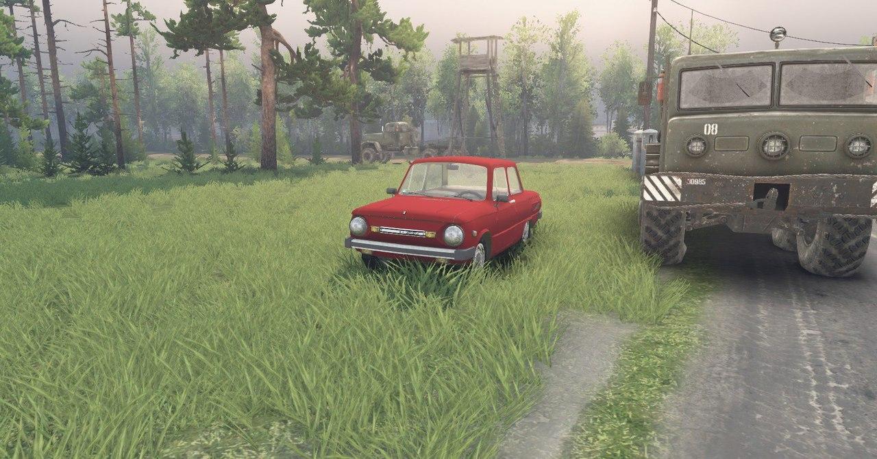 ЗаЗ 968М для Spintires - Скриншот 2