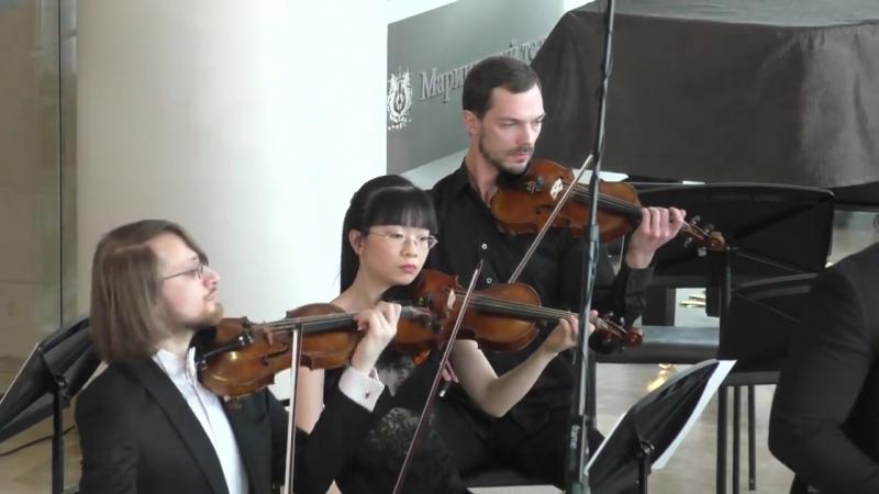 Г.Ф.Телеман - Концерт для валторны 24.02.2016 Захар Кацман, Камерный оркестр Мариинского театра