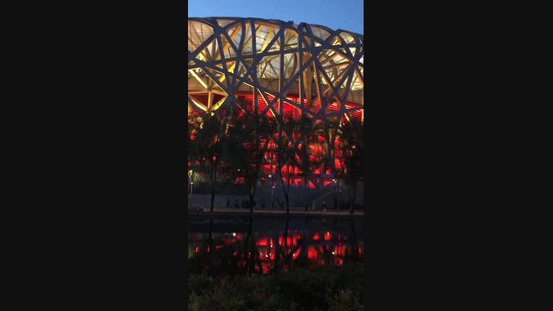 Bird's Nest the Opening Ceremony venue of Beijing 2008 Olympic Games