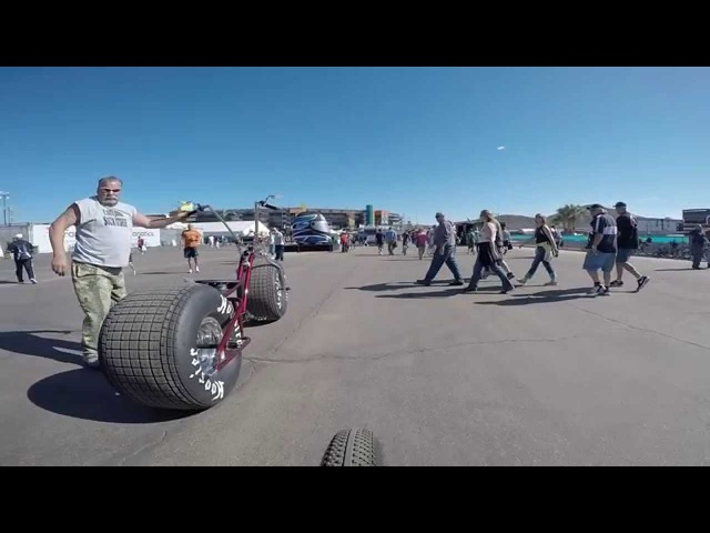 GIRTH Fat Tire Bicycle Nascar 2015 Phx