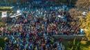 Марш УПА погрузил Киев в дым, взрывы и огни файеров: фото и видео с высоты