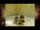 Fort Boyard 1994 - Indra dans la lutte dans la boue