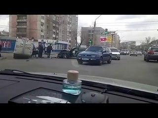 Авария на перекрестке Мира - Абая