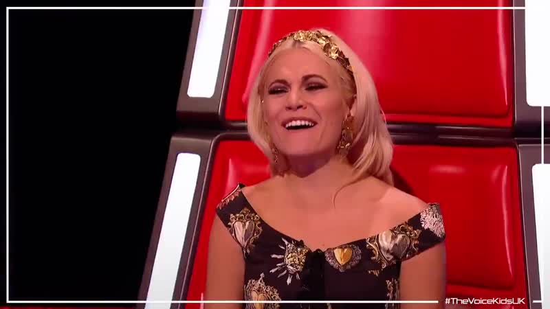 Our feelings exactly, Emma Willis (The Voice Kids UK 2019)