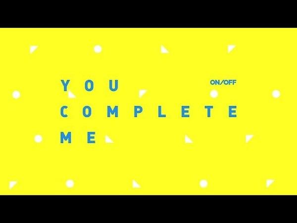 온앤오프 (ONF) 2nd Mini Album [YOU COMPLETE ME] ALBUM PREVIEW