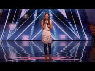 13-летняя Courtney Hadwin выиграла золотую кнопку благодаря своему необычному вокалу!
