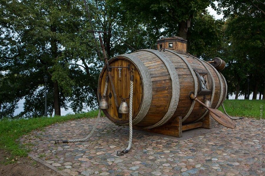 Сестрорецк подводная лодка бочка
