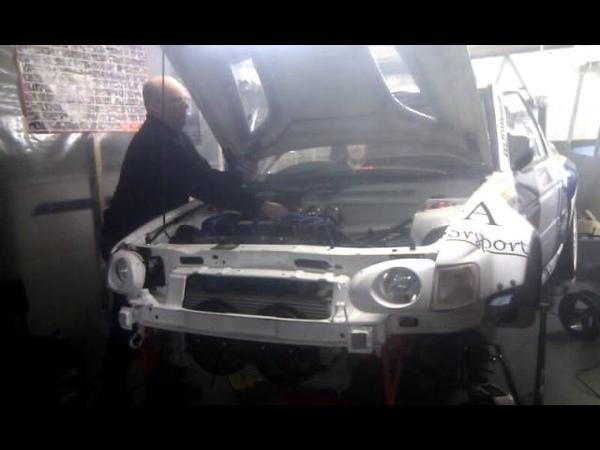 Escort Maxi F2 kit car first fire up.