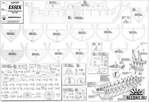 Чертежи моделей кораблей своими руками