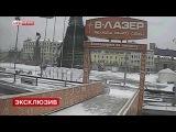 Камеры сняли падение главной новогодней елки Владивостока