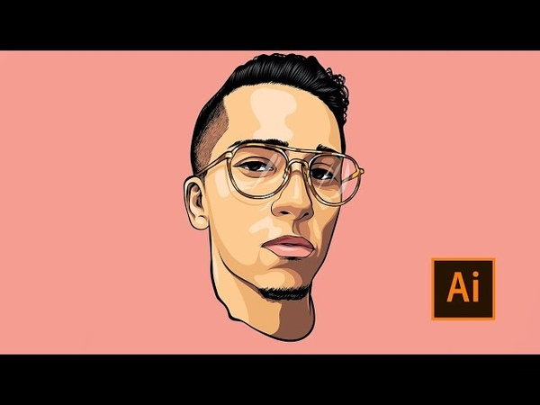 Cartoon Speedart For Customer / Adobe Illustrator