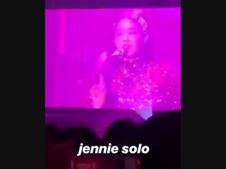 JENNIE-SOLO BLACKPINK ARENA TOUR