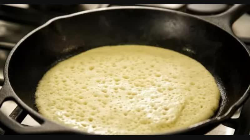 Марокканские пористые блины с манкой — один из лучших завтраков зимой!