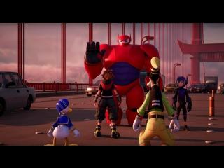 KINGDOM HEARTS III  Big Hero 6 Trailer (Closed Captions)